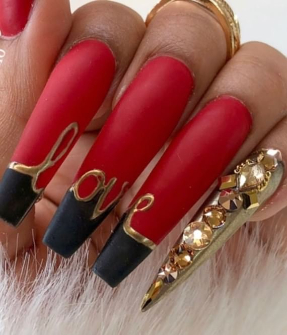 Christmas Nail Colors And Designs For Long Nails, Christmas Nail, Colors And Designs For Long Nails , Christmas Nail Colors , Long Nails , Christmas , Nail Colors And Designs For Long Nails , Nails , Nail